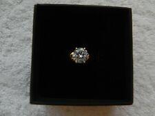 Ring Size 6/7 Engagement/Bridal Cubic Zirconia Ladies 2C Solitare