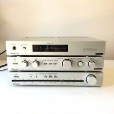 New listing Technics Power amp & preamp & Fm/Am stereo tuner deck Se-C01 Su-C01 St-C01