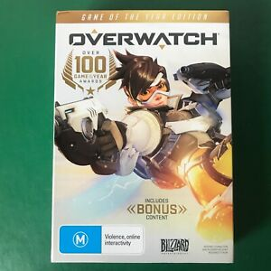 PC Game OVERWATCH Game of The Year Edition Complete With Bonus Content