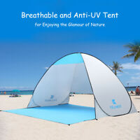 Portable Pop Up Beach Canopy Sun Shade Shelter Outdoor Camping Fishing Tent
