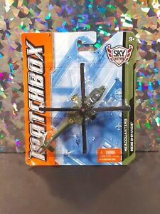 "MATCHBOX SKY BUSTERS - HEADQUARTERS ~ ""BOEING AH-64 APACHE"" ~ 2012 Mattel NIB!"