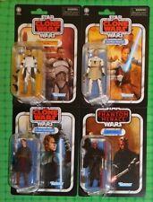 2020 Star Wars - Vintage Collection - Lot of 4 - w/Anakin, Obi-Wan, & Darth Maul