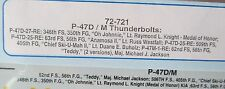 1/72 SuperScale Decals 72-721 P-47D/M THUNDERBOLTS mint
