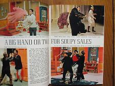 1966  TV Guide(SOUPY SALES/SUSANNE CRAMER/JOHN GARY/BRIAN KELLY/SAMMY DAVIS, JR.