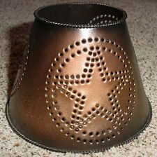 Home Interior Metal Star Candle Jar Topper