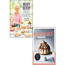 Pleesecakes Fast Cakes Easy bakes in minutes 2 Books Collection Set NEW