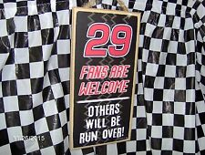 """# 29  Fans are Welcome/Others will be Run Over Wood 10"""" x 5 x .25"""" Sign"""