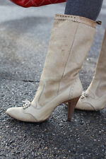 Diesel~Tan Leather Boots~Spain~8.5~$350 *SOLD OUT EVERYWHERE*