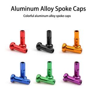 Alloy Bicycle Spoke Nipples Spoke Cap Cycling Spokes Nipples Bike Wheel