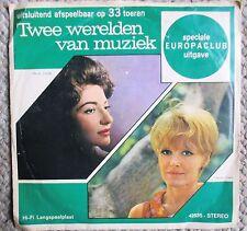 "Two Worlds of Music Dutch 7"" Europaclub 33rpm sample Petula Clark Hollies Callas"