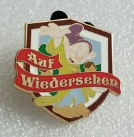 """Disney - Dopey - Alpine Magic """"Auf Wiedersehen"""" - ABD Pin"""