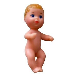 Vtg Mattel Barbie Doll Baby Chrissy blonde Hair 1985 Blue Eyes Baby Sister