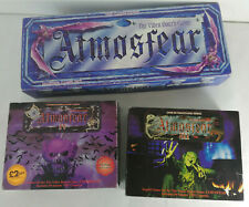 Vintage ATMOSFEAR VHS Board Game + 2 Expansion Packs III & IV