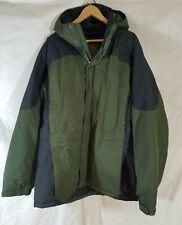 LL Bean Men's Rugged Ridge Parka Jacket XXL Tall Green  Primaloft waterproof