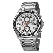New Men's August Steiner AS8127SSW Swiss Multifunction Tachymeter Bracelet Watch