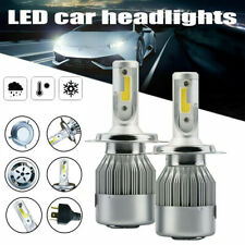 Pair LED H4 Headlight Globe Kit 72W 172500LM Beam Conversion Bulb 6000K White AU