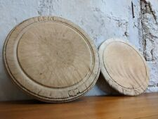 Victorian Sycamore Bread Boards, Antique