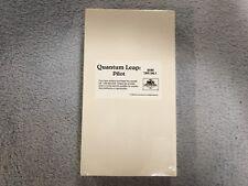 Quantum Leap: Pilot-Vhs-Sci-Fi -Scott Bakula-Dean Stockwell-Promo / Screener-New