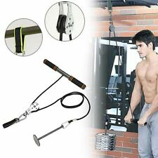 Arm Blaster Trainer With Pulley Attachments Triceps Workout Weight Lifting Home