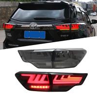 For Toyota Highlander 2014-2019 Smoke Rear Lamp/LED Tail light  Assembly