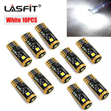 10X LASFIT White T10 Wedge Led Interior License Plate light W5W 192 168 194 2825