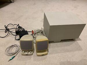 Altec Lansing ACS340 2.1 Speakers Multimedia Computer Speaker System