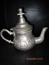 Theiere Théières Moulay Hassan Fabrication Dar El Berrad Morrocan Teapot