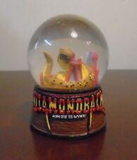Rare Kings Island Diamondback Roller Coaster Collectible Souvenir Snow Globe