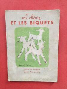 Album du Père Castor 1949 EO Romain Simon La chèvre et les biquets