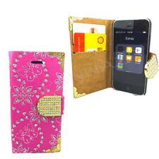 Fundas y carcasas brillantes de color principal rosa para teléfonos móviles y PDAs Samsung