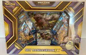 Pokémon COLLEZIONE SET KANGASKHAN EX NUOVO ITALIANO POKEMON TCG + CARTA GIGANTE