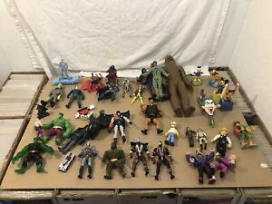 Vintage Action Figures Mixed Lot 70's 80's 90's Mego Kenner Mattel Commando