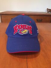 Kansas Jayhawks A-flexfit hat by The Game NWT NCAA Rock Chalk KU OSFM