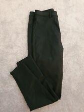 Ladies M&S Black Leather Look Super Skinny Jeans Size 14L