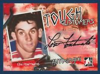 LOU FONTINATO 05-06 IN THE GAME TOUGH CUSTOMERS 2005-06 AUTOGRAPH  15885