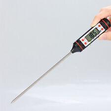 LCD Thermometer Home Küche Laborgeräte Wasser Lebensmittelsonde BBQ