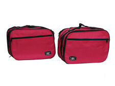 PANNIER LINER BAGS LUGGAGE BAGS INNER BAGS TO FIT BMW R1200RT RED COLOUR