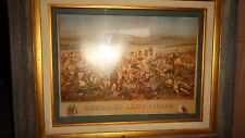 CUSTER'S  LAST  FIGHT -  Framed Print  -  36 X 30 Inches   -  Pick Up Houston