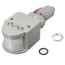 LED 110V-240V Infrared PIR Motion Sensor Detector Wall Light Switch 140Degree