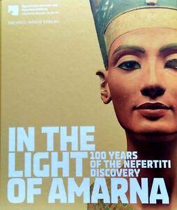 Light of Amarna Nefertiti Artifacts Jewelry Aten Faience 100yrs of Discoveries