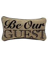 Disney Parks Beauty and the Beast Pillow  ''Be Our Guest'' new