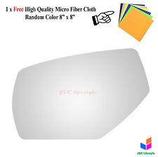 NEW fit 2014-2016 Chevy Silverado GMC Sierra Driver Non-Heat Mirror Glass #4529