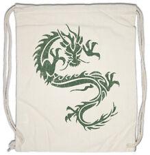 Tribal Chinese Dragon II Turnbeutel China Symbol Tattoo Chinesicher Drache