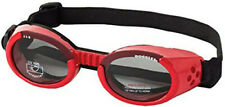 Doggles Dog Goggles Sunglasses Red/Smoke Lenses - Large