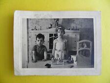 Altes Kinder- Foto Kaufladen Spielzeug  9,5 cm x 6,5 cm