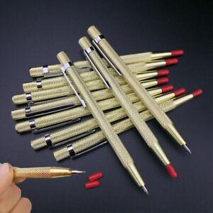 1X SCRIBE Tool Tungsten Engineering Point Scriber Sheet Carbide Metal Pen Tipped