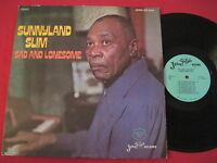 SUNNYLAND SLIM - SAD & LONESOME - JEWEL LPS 5010 STEREO - BLUES LP
