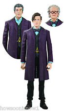 """Dr Who 5"""" Time of The Doctor Action Figure Set New 1 Figure 2 Extra Heads U Toys"""