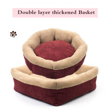 Self-Warming Cat and Dog Bed Cushion Sofa Bed Mat for Small Medium Dogs D189