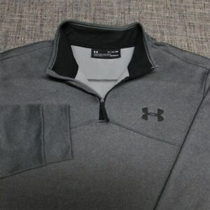 UNDER ARMOUR POLY 1/4 ZIP GOLF PULLOVER--XL--WRINKLE FREE--SPOTLESS QUALITY!!